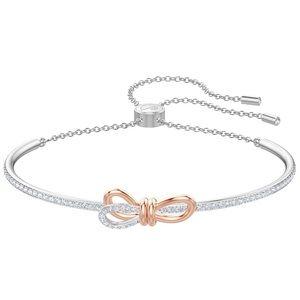 Swarovski lifelong bow bangle adjustable